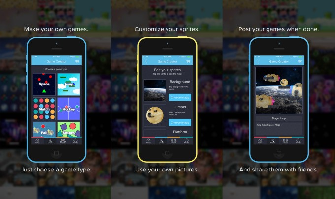 Make Games On Your iPhone With Playr