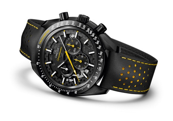 Omega takes us to the Dark Side with their new moonwatch