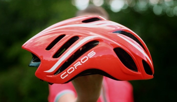 The Coros LINX is a smart bike helmet that makes sense