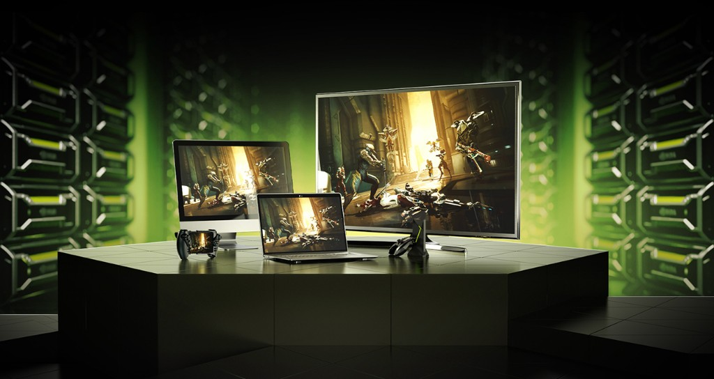 NVidia GeForce Now Cloud Gaming - cover