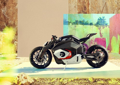 Here is BMW's new electric motorcycle concept