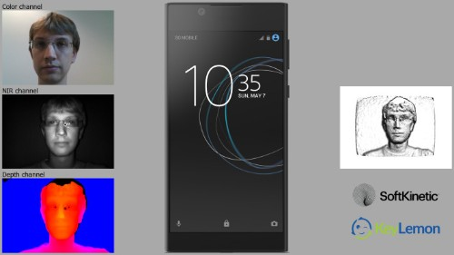 Sony to demo 3D face biometric running on an Xperia smartphone
