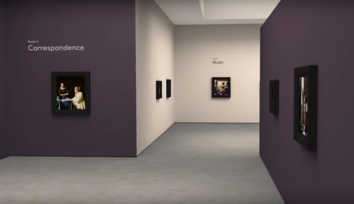 Google is building digital art galleries you can step into