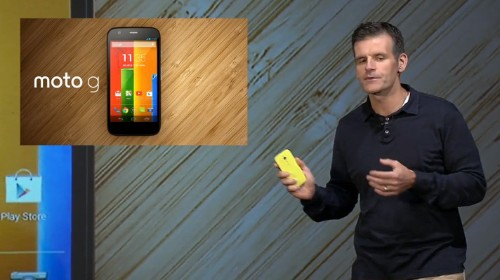 "Motorola Makes The Moto G Official, A ""Premium"" Phone Starting At $179 Unlocked"