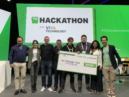 Myneral.me wins the TechCrunch Hackathon at VivaTech