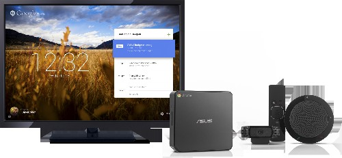 Google Launches Chromebox For Meetings, A $999 Videoconferencing System Based On ChromeOS