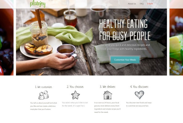 PlateJoy Launches To Help You Plan Meals, With Ingredients Delivered To Your Door