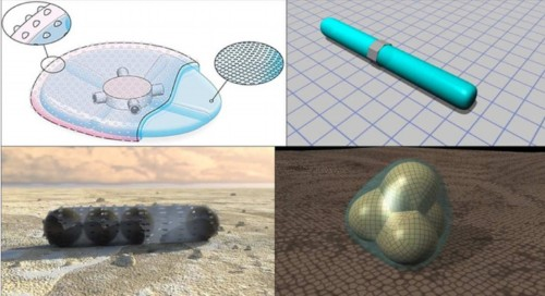 NASA Receives Patent For A New Type Of Squishy Amorphous Robot