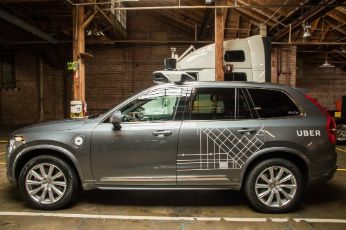 Uber orders up to 24,000 Volvo XC90s for driverless fleet