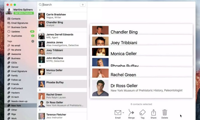 FullContact launches a better alternative to your Mac's built-in Contacts app