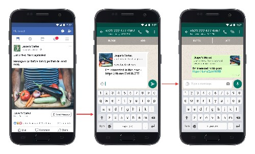 Click-to-WhatsApp messaging buttons are now rolling out in Facebook ads