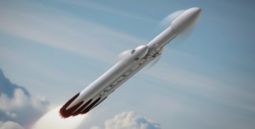 SpaceX's first Falcon Heavy launch could attempt upper-stage recovery
