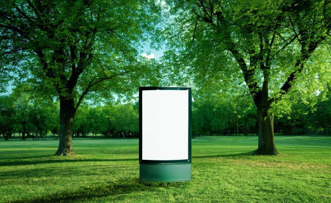 Outdoor Advertising Is The New Black