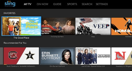 Sling TV adds personalized recommendations, launching first on Apple TV