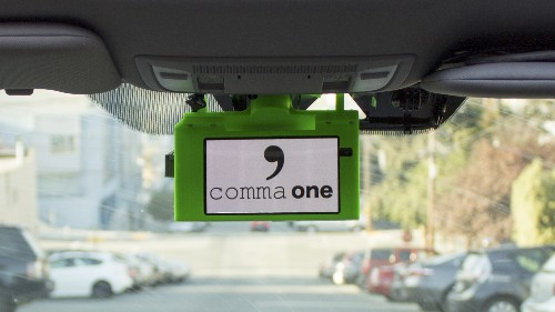 Comma.ai will ship a $999 autonomous driving add-on by the end of this year