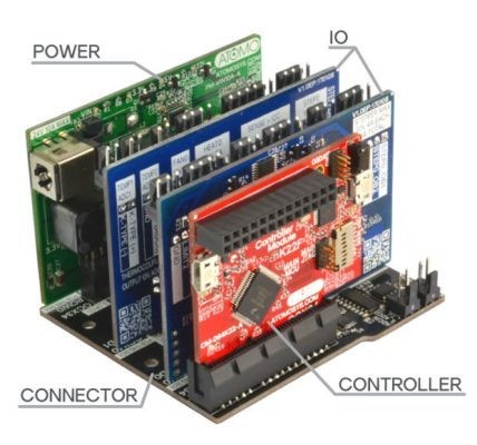 The Atomo Modular Electronics System is like LEGO for electronics