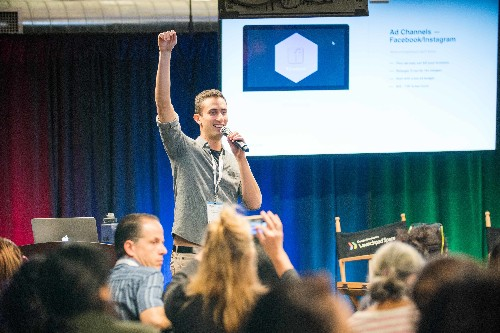 Get advice on the latest growth tactics from Demand Curve at Disrupt SF