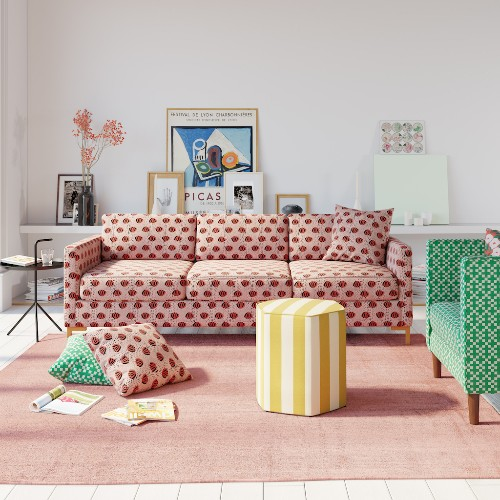 The Inside adds sofas to its custom furniture lineup