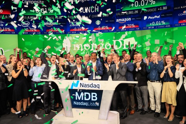 MongoDB shares pop 25% in its public market debut