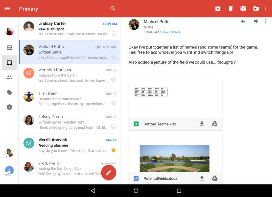 Gmail For Android Gets A Unified Inbox