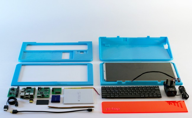 The Pi-Top, A Raspberry Pi-Powered Laptop, Is Hitting The Crowdfunding Trail