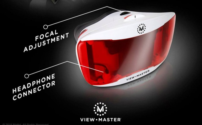 View-Master Shows Off Updated Version Of Its Iconic Virtual Reality Viewer