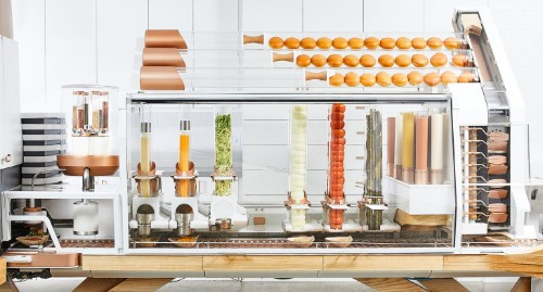 Taste test: Burger robot startup Creator opens first restaurant