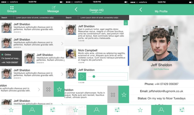 Beautiful WhatsApp Redesign Concept Grooms A $19B Workhorse