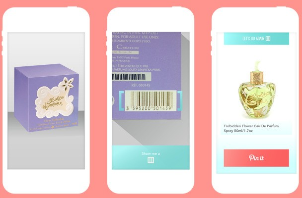 LoveList For iPhone Is A Simple Product Scanner For Pinterest