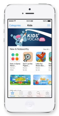 "Introducing Apple's New ""Kids"" App Store"