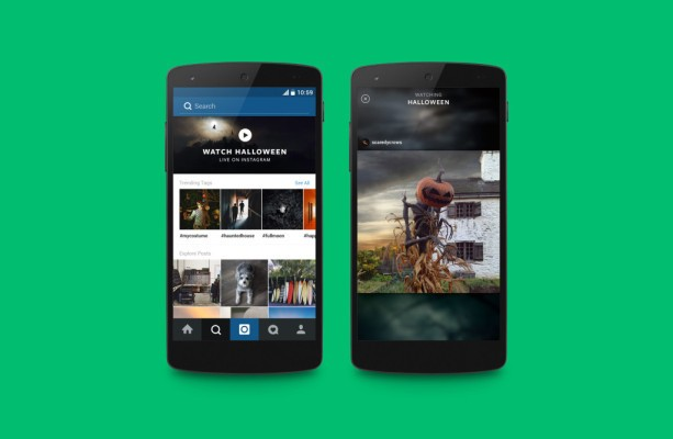 Instagram Launches A Curated Feed Around Events, Starting With Halloween