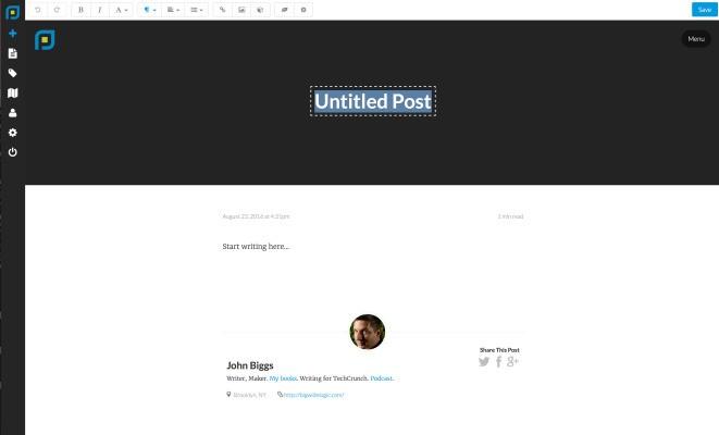Postleaf is an open-source blogging platform for the design-conscious