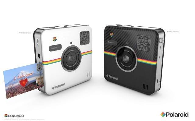 The Polaroid Socialmatic Is An Android Camera And An Instant Printer Mashed Together