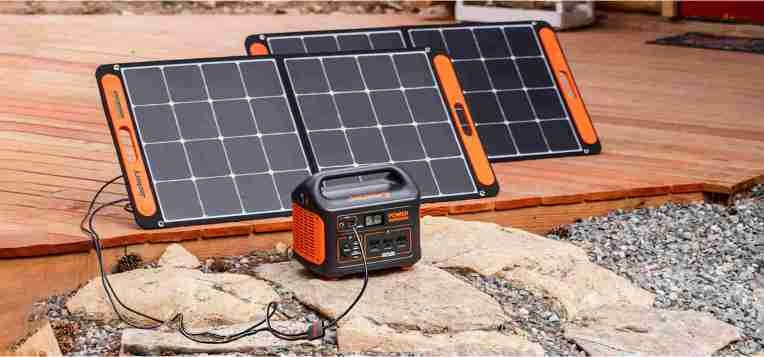 Jackery's solar generator system helps you collect and store more than enough juice for off-grid essentials