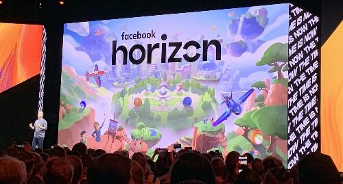 Facebook announces Horizon, a VR massive-multiplayer world