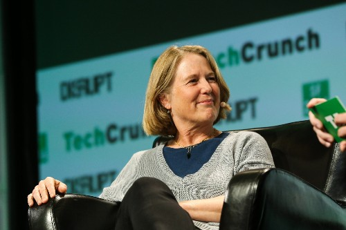 Google's Diane Greene talks AWS and machine learning at TechCrunch Disrupt