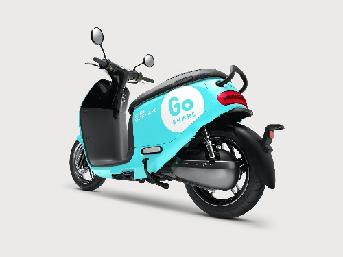 Smart scooter company Gogoro launches GoShare, an end-to-end vehicle-sharing platform