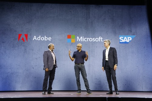 Microsoft, Adobe and SAP prepare to expand their Open Data Initiative