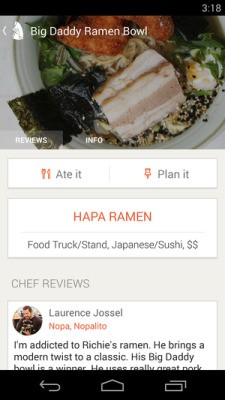 Restaurant Recommendation Startup Chefs Feed Launches Android App And Names New CEO