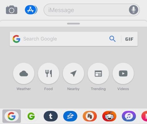 Google Search comes to iMessage