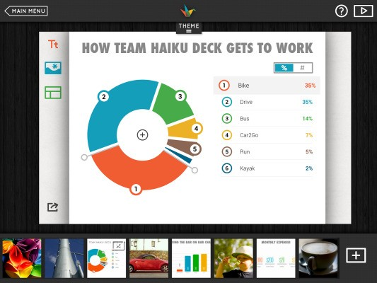 With 500K Downloads, Haiku Deck Raises $3M Series A For Its Unique, Mobile-First Presentation Creation App