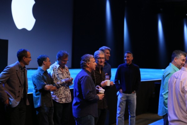 Apple's Top Brass Looks Very Much In Sync At WWDC Following Last Year's Reorganization