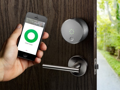 August's Smart Lock Goes On Sale Online And At Apple Retail Stores For $250