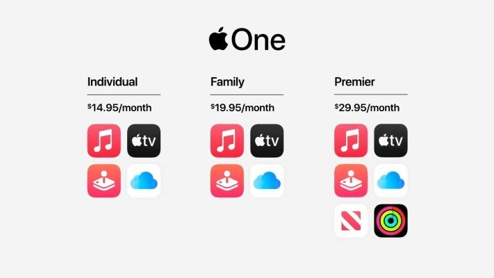 Apple One services subscription bundles start launching tomorrow