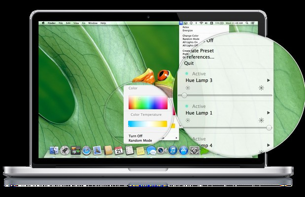 Control Philips Hue From Your Mac's Menu Bar With New App For OS X