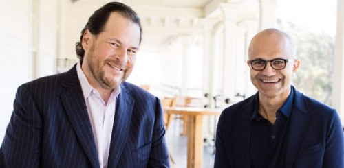 Salesforce And Microsoft Continue To Broaden Partnership