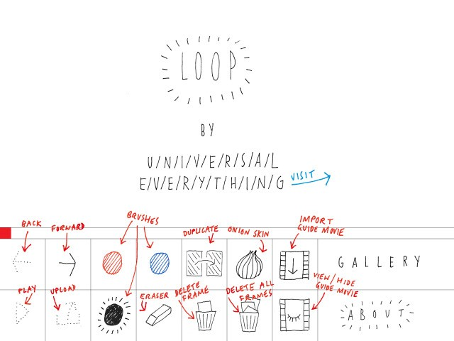 iPad Animation App Loop Captures The Fun Of Making Doodled Flipbooks