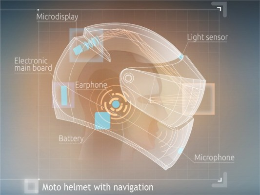 Russian Startup Livemap Lands $300K Grant For Its Motorcycle Helmet With Built-In Navigation