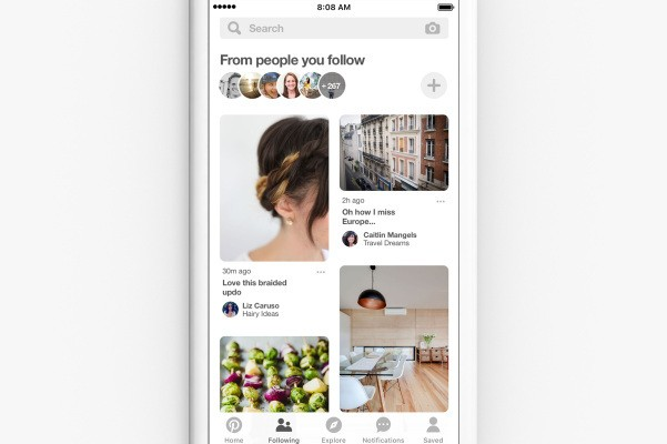 Pinterest reports 25% increase in monthly active users