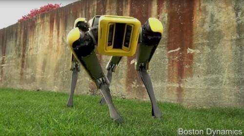 Meet Boston Dynamics' streamlined SpotMini